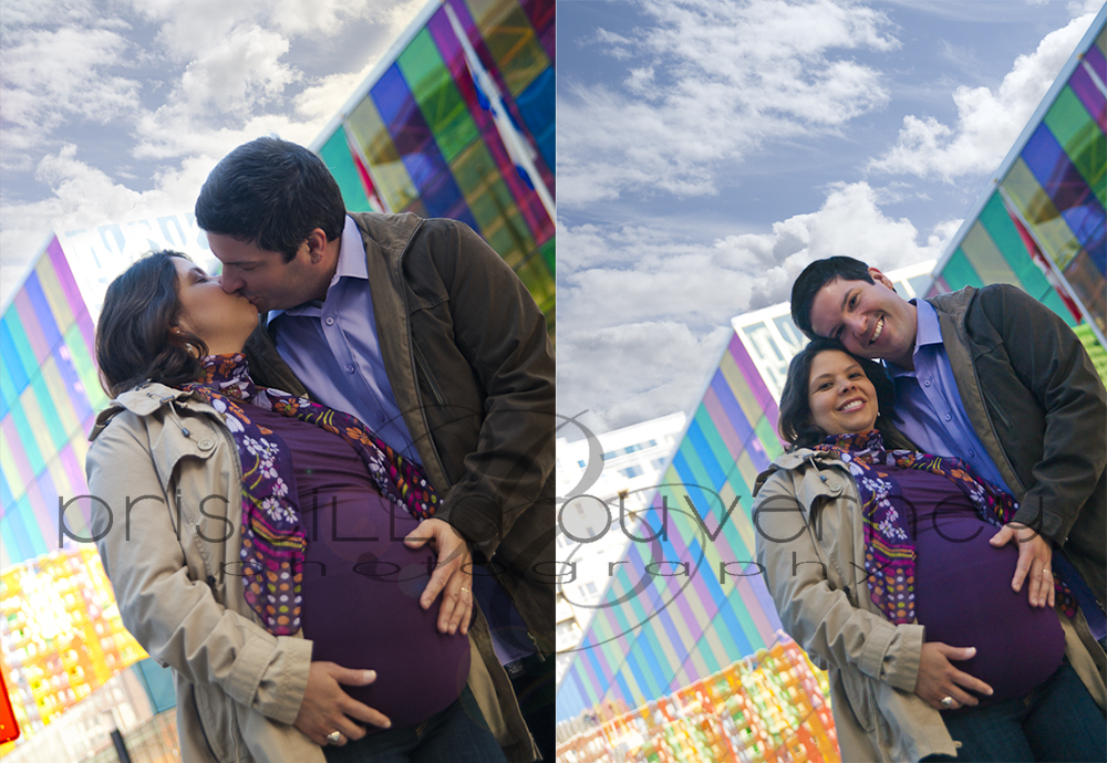 | Montreal Maternity Photographer | – Family F. - Happy moments in downtown Montreal (1/5)
