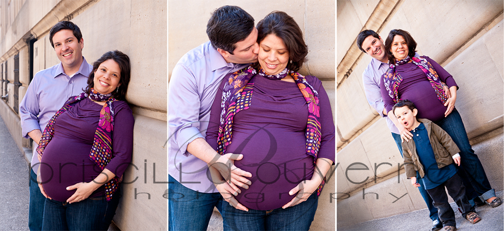 | Montreal Maternity Photographer | – Family F. - Happy moments in downtown Montreal (5/5)