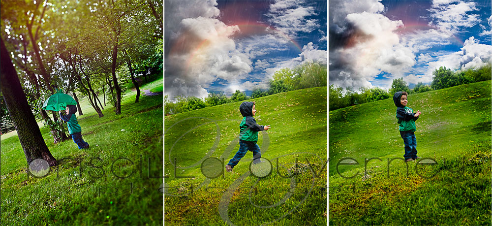 | Montreal Family Photographer | – Neither the rain can stop our fun! Family S. portrait session! (6/6)